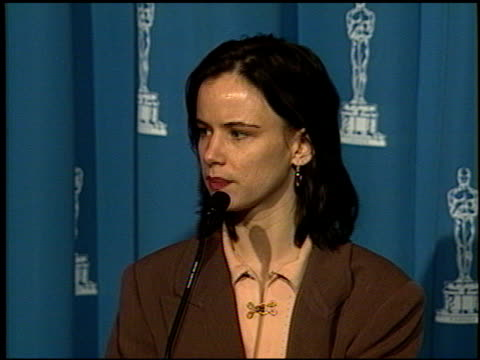 Juliette Lewis at the 1992 Academy Awards Luncheon at the Beverly Hilton in Beverly Hills California on March 17 1992