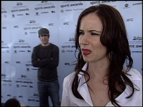 juliette lewis at the 2003 ifp independent spirit awards on march 22 2003 - ifp independent spirit awards stock videos and b-roll footage