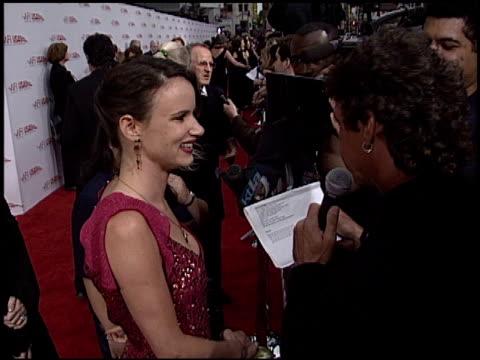 Juliette Lewis at the AFI Awards Honoring Robert De Niro at the Kodak Theatre in Hollywood California on June 12 2003