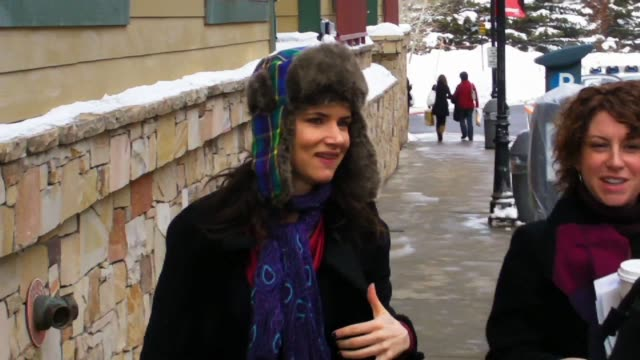 Juliette Lewis at the Celebrity Sightings at Sundance at Park City UT