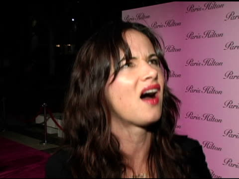 Juliette Lewis at the Launch of Paris Hilton's New Fragrance at 5900 Wilshire Boulevard in Los Angeles California on December 3 2004