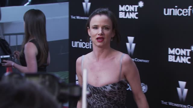 Juliette Lewis at the Montblanc Charity Cocktail hosted by The Weinstein Company to benefit UNICEF at Soho House at West Hollywood CA