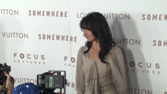 juliette lewis at the 'somewhere' premiere at hollywood ca. - juliette lewis stock videos & royalty-free footage