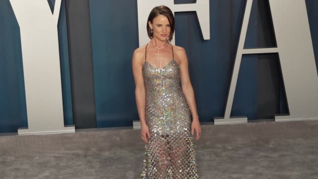 juliette lewis at vanity fair oscar party at wallis annenberg center for the performing arts on february 09, 2020 in beverly hills, california. - juliette lewis stock videos & royalty-free footage