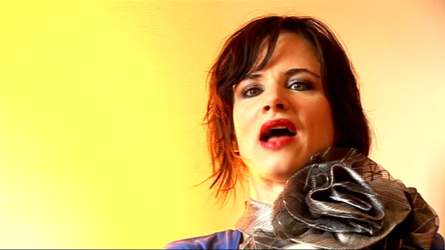 juliette lewis interview; juliette lewis interview continued sot - on still acting - her new movie 'whip it' comes out later in the year - it's drew... - juliette lewis stock videos & royalty-free footage