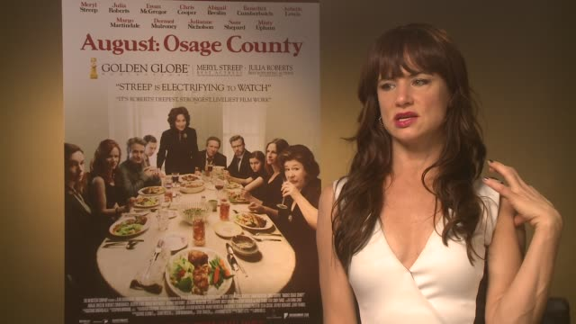 INTERVIEW Juliette Lewis on her career at 'Osage County' Interviews on December 19 2013 in London England