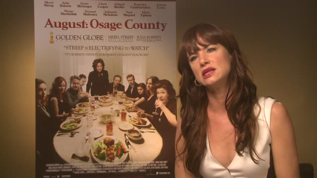 INTERVIEW Juliette Lewis on her future projects at 'Osage County' Interviews on December 19 2013 in London England on December 19 2013 in London...