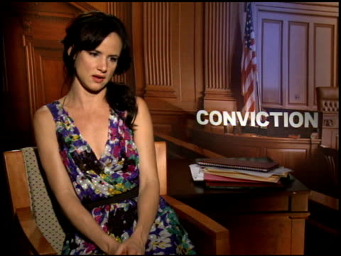 Juliette Lewis on how she prepared for her role at the 2010 Toronto International Film Festival 'Conviction' Junket at Toronto ON