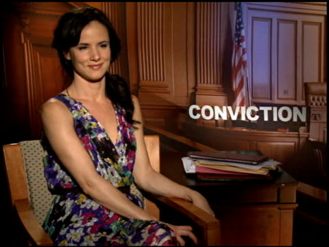 Juliette Lewis on if she could make the same sacrifices that are depicted in the film at the 2010 Toronto International Film Festival 'Conviction'...