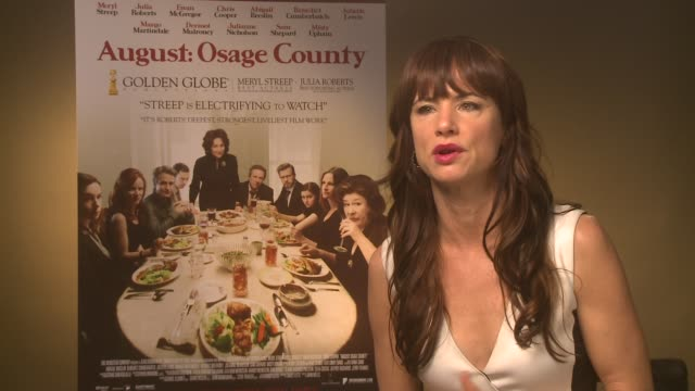 INTERVIEW Juliette Lewis on the writing the characters at 'Osage County' Interviews on December 19 2013 in London England