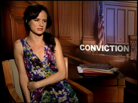 Juliette Lewis on what attracted her to the role at the 2010 Toronto International Film Festival 'Conviction' Junket at Toronto ON