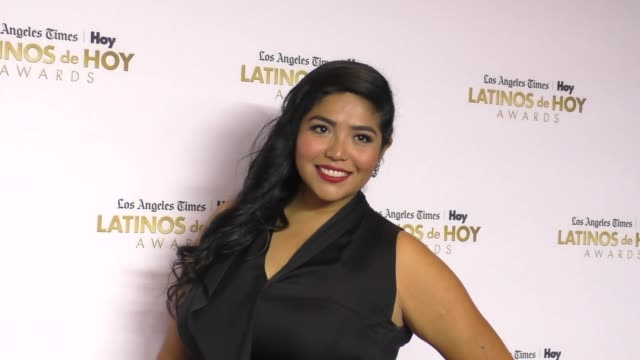 julissa arce at the 2016 latinos de hoy awards at dolby theatre in hollywood on october 09 2016 in hollywood california - the dolby theatre stock videos & royalty-free footage