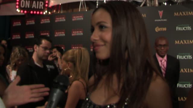 julissa talks about the list and what she has to do to make it next year at the 2006 maxim hot 100 party at buddha bar in new york, new york on may... - ブッダバー点の映像素材/bロール
