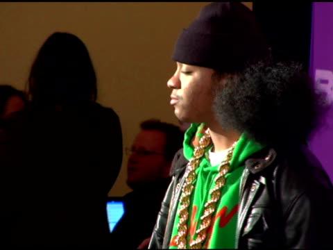 julito and deelishis at the bet's rip the runway 2007 at the hammerstein ballroom in new york, new york on march 6, 2007. - black entertainment television bildbanksvideor och videomaterial från bakom kulisserna