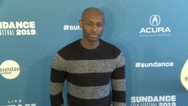 julius onah at 'luce' premiere 2019 sundance film festival at library center theater on january 27 2019 in park city utah - luce stock videos & royalty-free footage