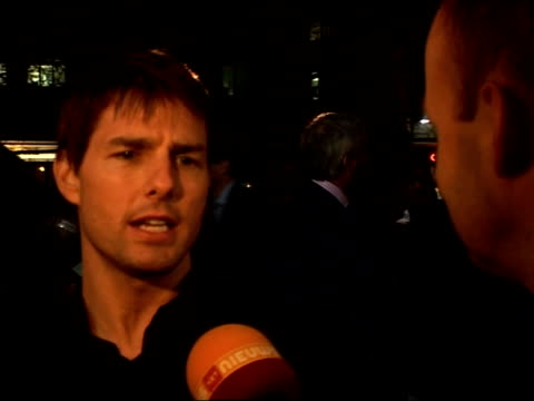july; actor tom cruise born on 3 july 1962 lib japan: tokyo: ext tom cruise attending world premiere of 'war of the worlds' - tom cruise video stock e b–roll