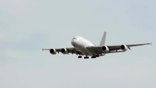 Jumbo Jet Landing.