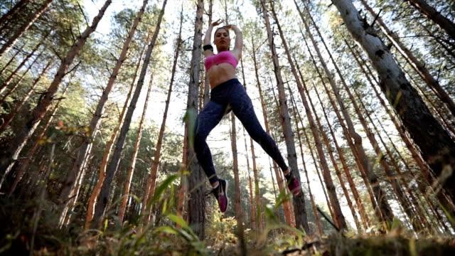 Springen van de oefening