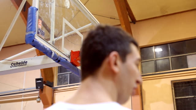 jump for the ball - jump ball stock videos and b-roll footage