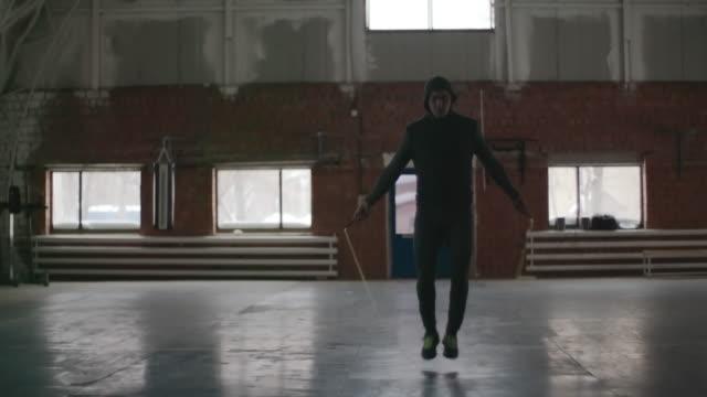 vidéos et rushes de jump rope boxing warm-up - pantalon