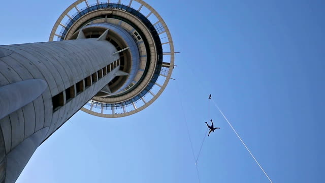 Jumping from Skytower