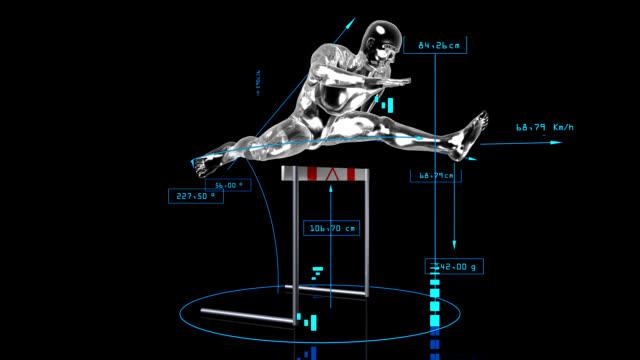 3 D-Jumping-Hurdler