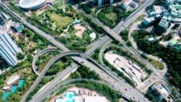 Junction in Hong Kong