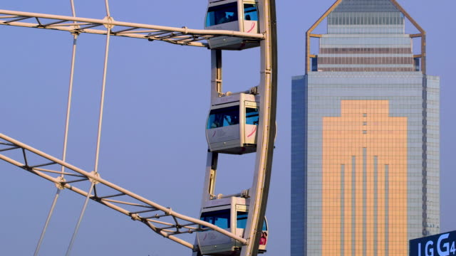 junction  structures  hong kong - central plaza hong kong stock videos & royalty-free footage