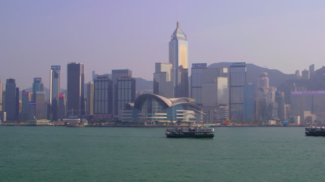junction  structures  hong kong - star ferry stock videos & royalty-free footage