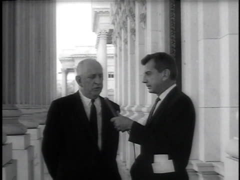june 11, 1964 senator richard russell of georgia talking about the opposition to the civil rights bill / washington, dc, united states - 1964 stock videos & royalty-free footage