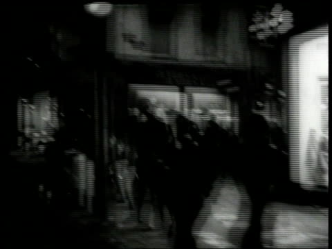 june 16, 1966 montage rioting in the night and into the next morning, fire, running, police rounding people up / amsterdam, north holland, the... - 1966 stock videos & royalty-free footage