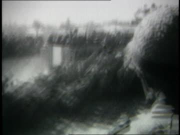 june 1967 montage israeli armored columns advancing to rafah / gaza strip - 1967 stock videos & royalty-free footage
