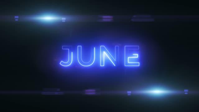 6月抽象的な背景 - 六月点の映像素材/bロール