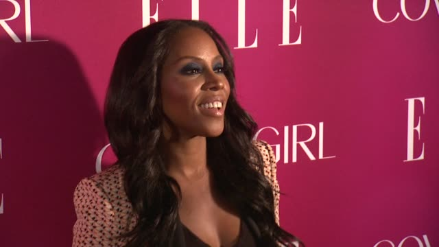 june ambrose at 4th annual elle women in music celebration arrivals at the edison ballroom on april 10 2013 in new york new york - edison ballroom stock videos & royalty-free footage