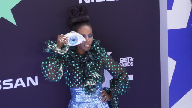 motion june ambrose at the 2019 bet awards at microsoft theater on june 23 2019 in los angeles california - black entertainment television stock videos & royalty-free footage