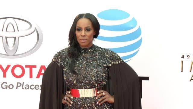 June Ambrose at the 49th NAACP Image Awards at Pasadena Civic Auditorium on January 15 2018 in Pasadena California