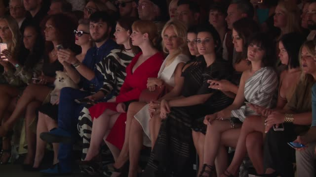 june ambrose kelly osbourne brad walsh coco rocha pamela anderson neve campbell christina hendricks jaimie alexander ashley graham and isabelle... - neve campbell stock videos and b-roll footage