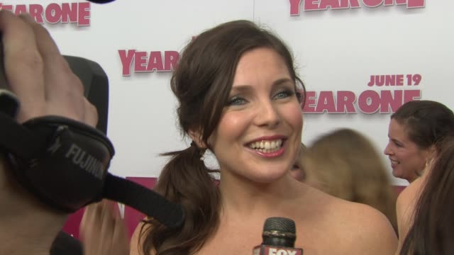 june diane raphael at the 'year one' premiere at new york ny - raphaël haroche stock videos & royalty-free footage