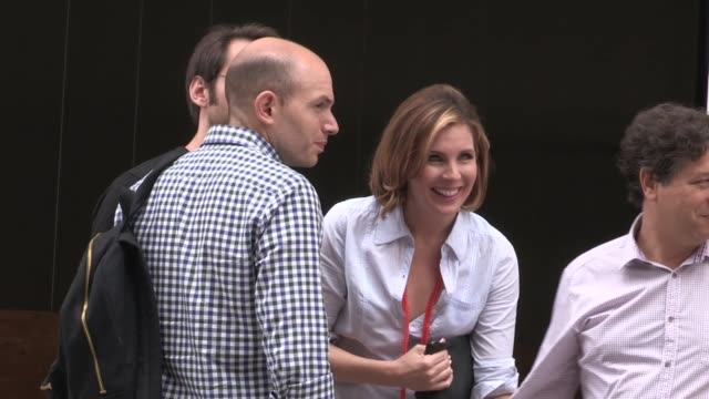 June Diane Raphael Karen Gillan and Paul Scheer at ComicCon in San Diego CA on 7/19/13