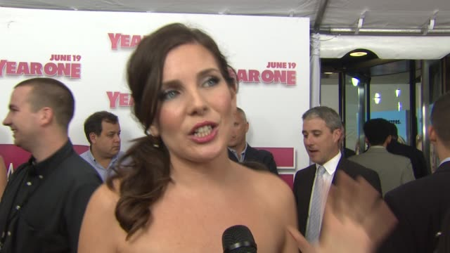 june diane raphael on being excited for tonight's premiere what it was like working with both jack black and michael cera and what she would miss... - raphaël haroche stock videos & royalty-free footage
