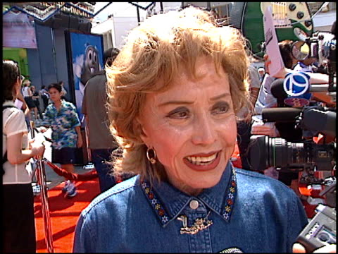 june foray at the premiere of 'the adventures of rocky and bullwinkle' at universal in universal city california on june 24 2000 - the adventures of rocky and bullwinkle 2000 film stock videos & royalty-free footage