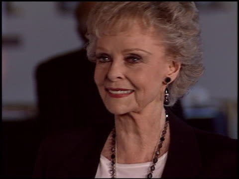 june lockhart at the 'meet me in st louis' dvd release at dga in los angeles california on april 4 2004 - june lockhart stock videos & royalty-free footage