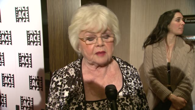 INTERVIEW June Squibb on the event at 64th Annual ACE Eddie Awards in Los Angeles CA