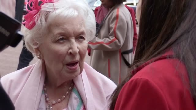 June Whitfield tells a story of the Queen doing an impression impression of her and gives her thoughts on the sexual assault allegations plaguing the...