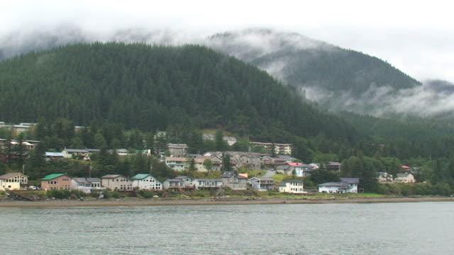 juneau, alaska homes - juneau stock videos and b-roll footage