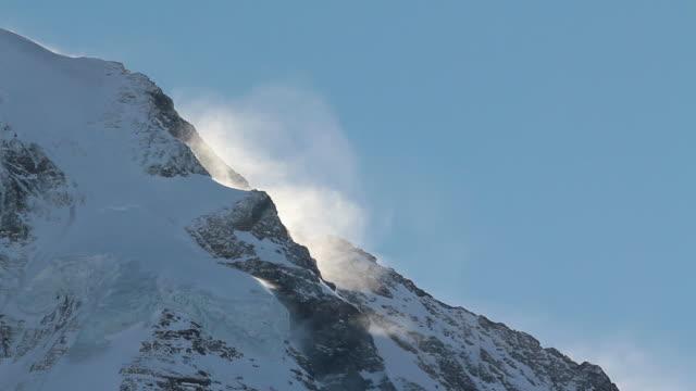 MS Jungfrau mountain in bernese alps / Wengen, Bernese Oberland, Switzerland