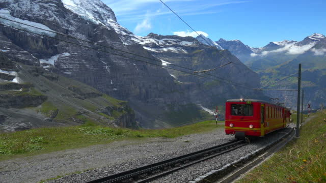 Jungfraubahn Railway, Kleine Scheidegg, Grindelwald, Bernese Oberland, Canton of Bern, Switzerland