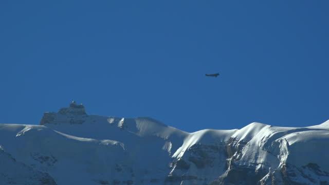 jungfraujoch, bernese alps, canton of bern, switzerland - bernese alps stock videos & royalty-free footage