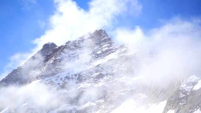 Jungfraujoch Sphinx Observatory Grindelwald mountain Alps snow ice