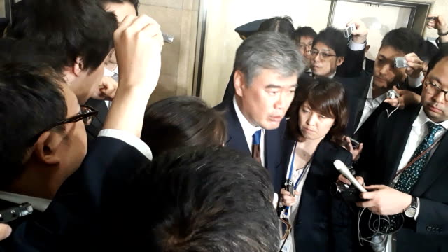 Junichi Fukuda the top bureaucrat at the Finance Ministry has resigned over allegations he sexually harassed a female reporter at a bar during an...